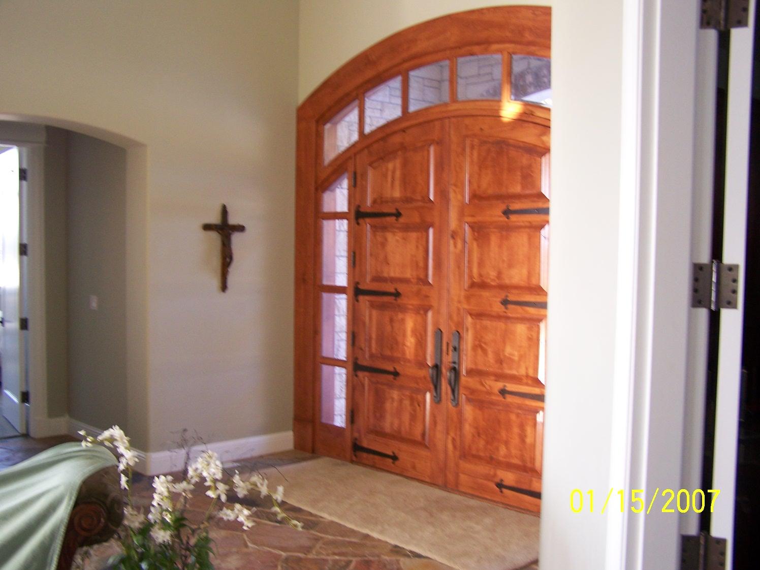 Nelson door - After