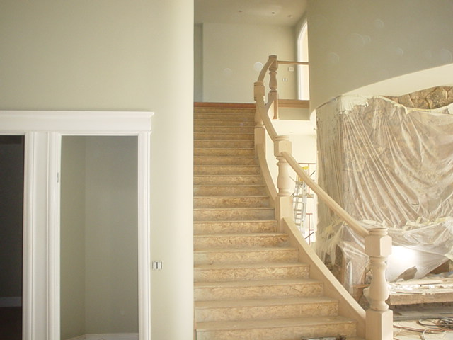 Nelson Stairs and Railing - Before