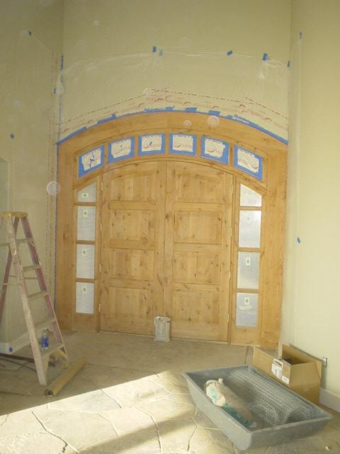 Nelson door - Before