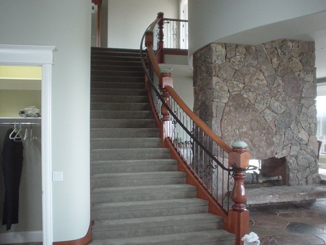 Nelson Stairs and Railing - After